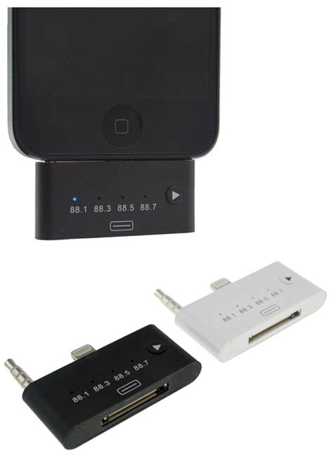 iphone fm transmitter wirelessly transmit your to an fm radio the gadgeteer