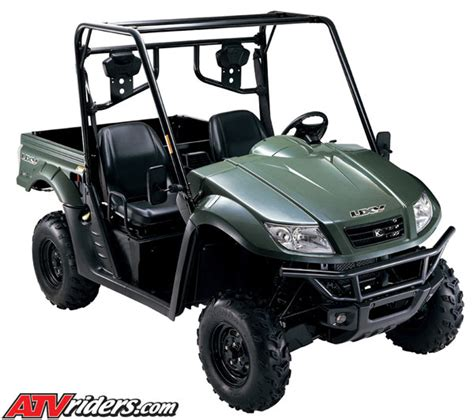 Suzuki Side By Side Utv by Kymco Introduces Two New Road Performers For 2009