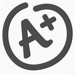Icon Grade Test Paper Transparent Prep Exam