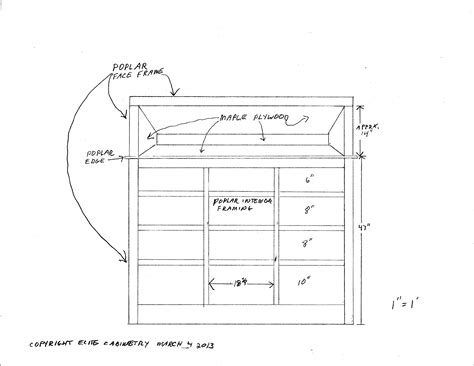 built  drawer  shelf
