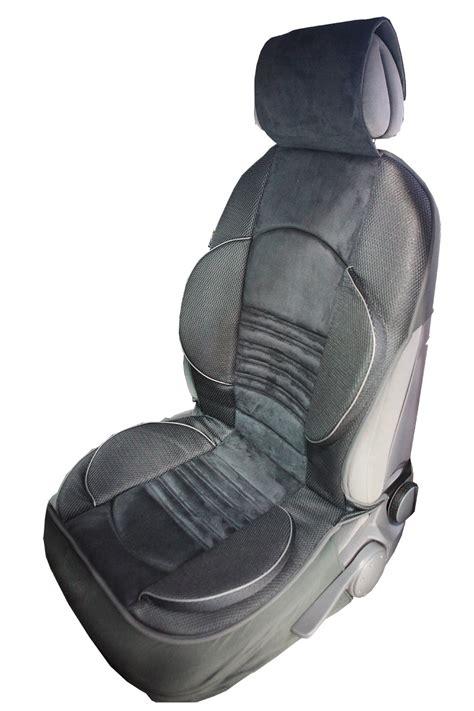 siege ergonomique pour voiture couvre siège grand confort pour les sièges avant de la voiture
