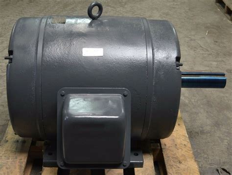 100 Hp Electric Motor by Wagner 100 Hp 1750 Rpm 444us 230 460v 444 11894 01a