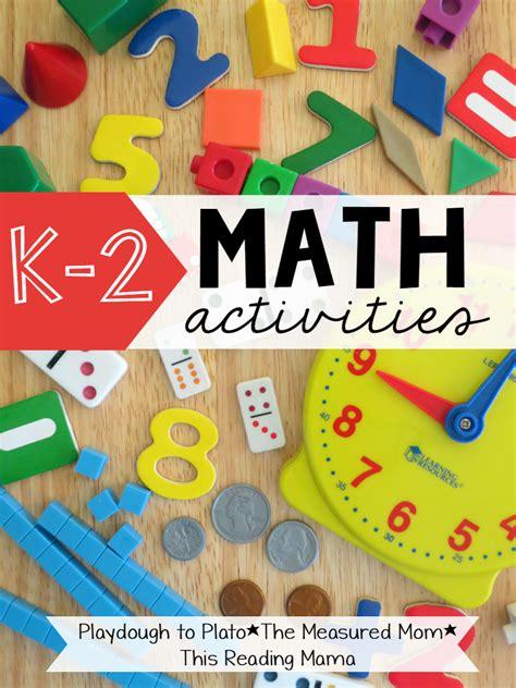 math activities  reading mama