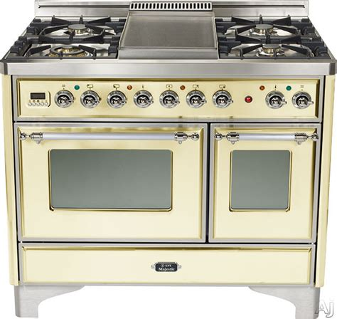 ilve umd100smpax 40 inch traditional style dual fuel range