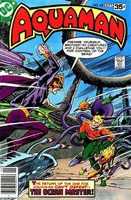 Aquaman Comic Book Covers