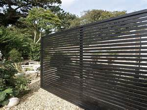 Horizontal Wooden Fence Panels