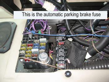 chevy p  auto parking brake    nightmare