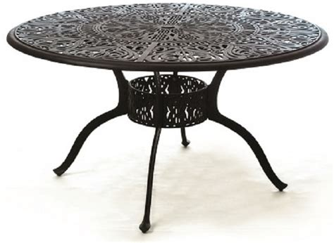grand tuscany 54 quot with lazy susan cast aluminum luxury