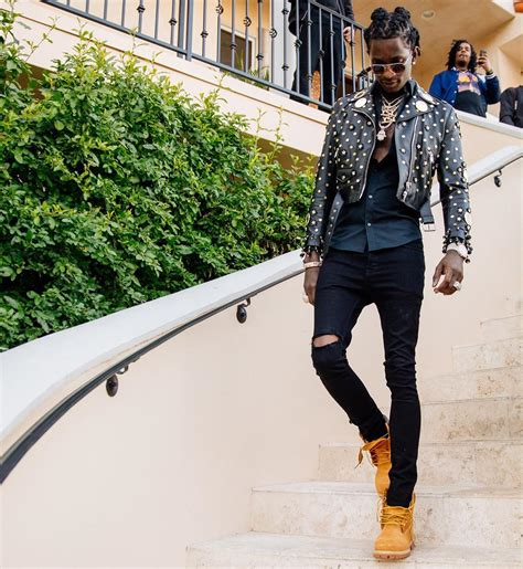 SPOTTED Young Thug In Moschino and Timberlands u2013 PAUSE Online | Menu0026#39;s Fashion Street Style ...