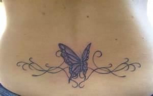 Tatouage Papillon Signification : tatouage papillon bas du dos femme luxe tatouage colibri ~ Melissatoandfro.com Idées de Décoration