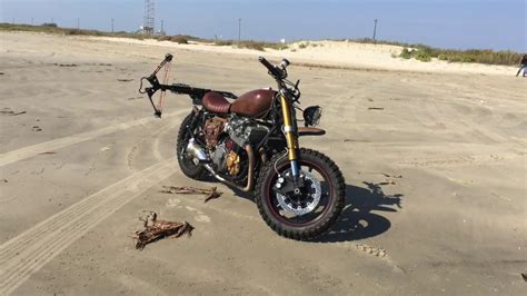 Daryl Dixon Motorcycle Build
