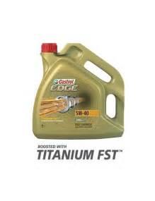Huile Castrol 5w40 : huile moteur castrol edge titanium td 5w40 bidon 5l ~ Medecine-chirurgie-esthetiques.com Avis de Voitures