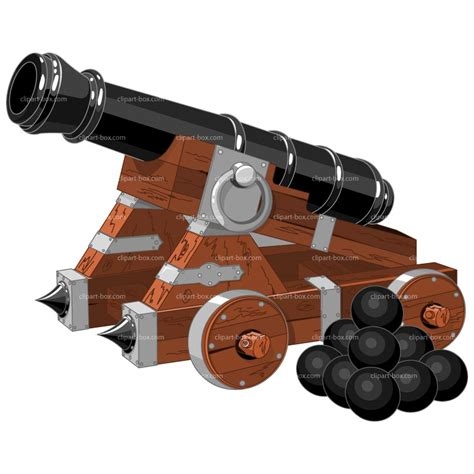 Cannon Clip Front Of Cannons Clipart Clipart Suggest