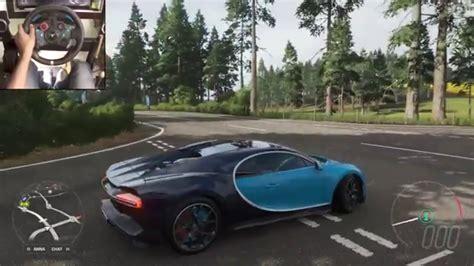 Bugatti chiron drag build & tune! bugatti chiron .forza horizon 4 must watch mind blowing - YouTube