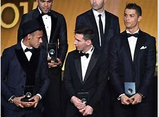 Cristiano Ronaldo 'looked after' Neymar at Ballon d'Or