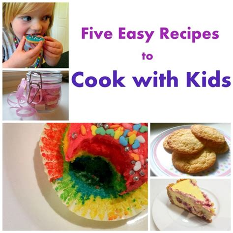 Five Easy Recipes To Cook With Kids  Octavia & Vicky