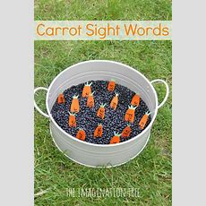 Digging For Carrot Sight Words Activity  Sensory Activities, Activities And Number