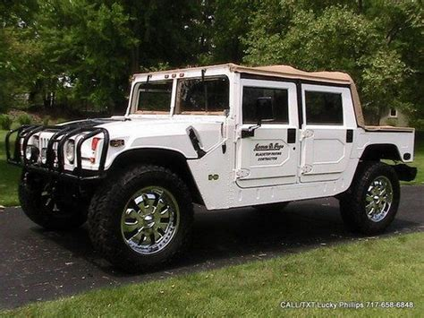 awesome hummer car purchase used hummer h1 open top convertible am general