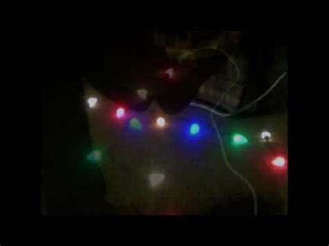 how to test christmas lights testing my new c9 led lights for my 2017 18 lights display oct 7 2017