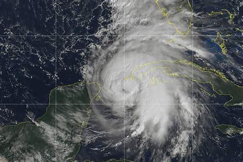 Hurricane Michael Headed Toward The Gulf Of Mexico