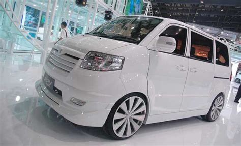 Suzuki Apv Luxury Wallpaper by Modif Suzuki Apv Putih Wallpaper Modif Mobil