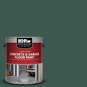 behr premium 1 gal pfc 45 patio green 1 part epoxy