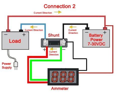 beesclover  va digital dc va amp volt ammeter