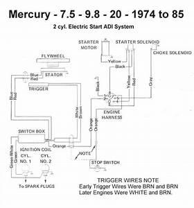 Mercury 25xd Wiring Diagram