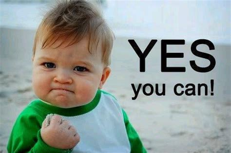 Yes You Can!  Lizzy Chile