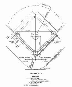 Softball Diamond Drawing At Getdrawings