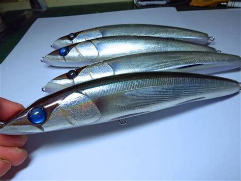 ginkuni ginei fishing lures lure making homemade