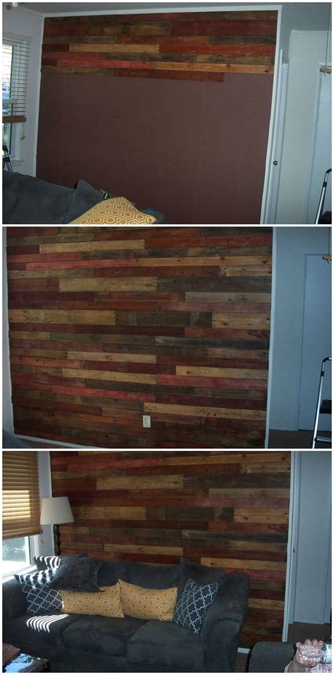 How I Made My Pallet Wall 1001 Pallets