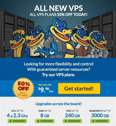 Save with vps coupons & promo codes coupons and promo codes for july, 2021. Hostgator 50% Discount Offer on VPS Hosting Plans