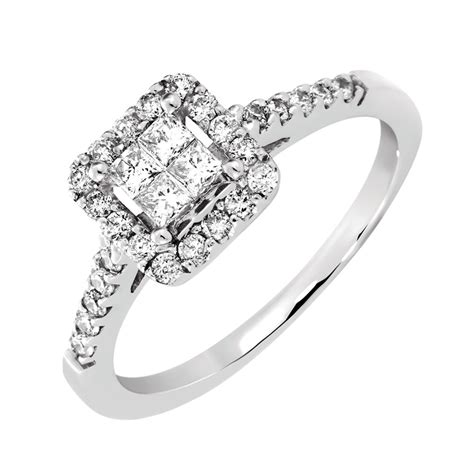 Online Exclusive  Engagement Ring With 12 Carat Tw Of. Square Halo Rings. Alphabet Engagement Rings. Pretty Pink Rings. Pave Band Wedding Rings. Iconic Engagement Rings. Cadenza Wedding Rings. Luxury Diamond Engagement Rings. Nfl Wedding Rings