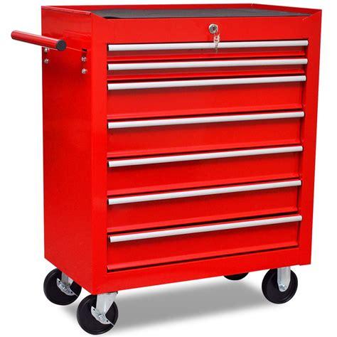 servante d atelier 7 tiroirs avec serrure centralise ide cadeau bricolage