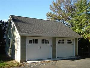 2 car detached garage kits plans the better garages With 2 stall garage kits
