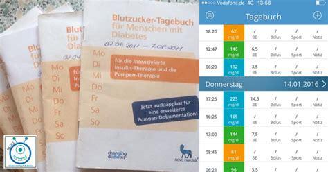 diabetes tagebuch kostenlos bestellen tagebuch oder app zur blutzuckerdokumentation kinder mit typ1 diabetes