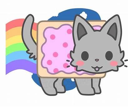Nyan Cat Kawaii Chibi Clipart Anime Cats