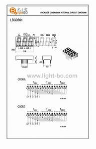 3 Digit 14 2mm  0 56 U0026quot   7 Segment Led Display Dimnsions  Circuit Diagram  Pin Out