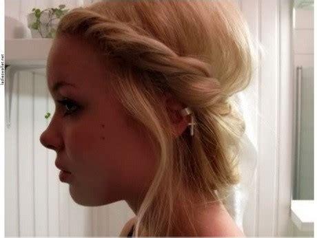 schulterlange haare hochstecken