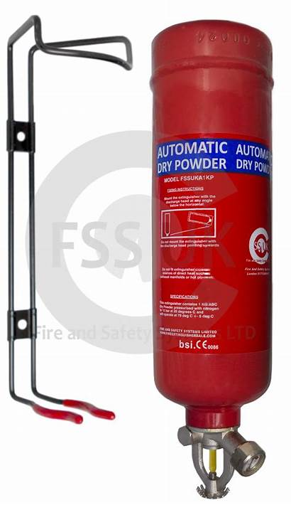 Fire Extinguisher Automatic System Dry Powder Electrical