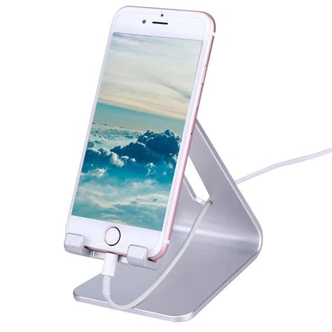 smartphone stand for desk universal cell phone desk stand holder for iphone 6s plus