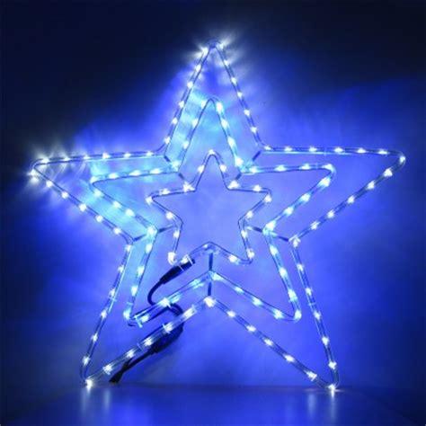 christmas star led 5m led rope light decoration