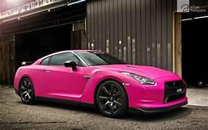 Pink, Nissan, Gtr, Wallpaper