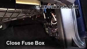 Interior Fuse Box Location  2015-2016 Ford F-150