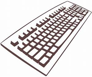 Computer Keyboard Clipart   Clipart Panda - Free Clipart ...