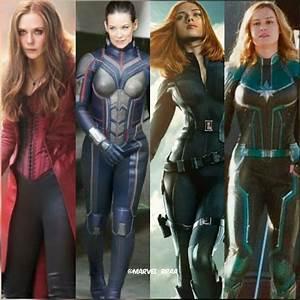 Marvel, Studios, Female, Superheroes