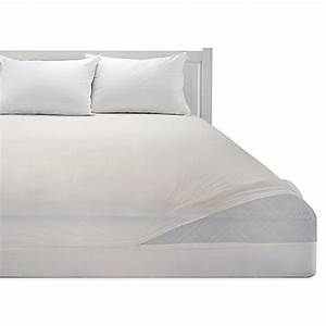 bedding essentialstm vinyl zippered mattress protector With bed bath and beyond plastic mattress cover