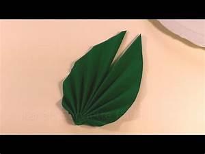 Servietten Falten Ostern Tischdeko : servietten falten ostern palmwedel blatt f cher youtube ~ Eleganceandgraceweddings.com Haus und Dekorationen