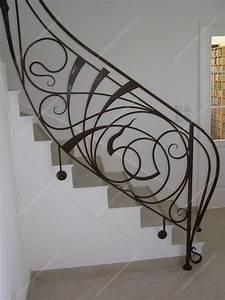 Rampe D Escalier Moderne : rampes d 39 escalier en fer forg art nouveau mod le nouille rampe escalier ar nouveau en 2019 ~ Melissatoandfro.com Idées de Décoration